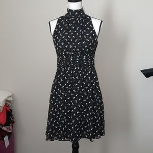 NWT YA Los Angeles High Collar Floral Dress